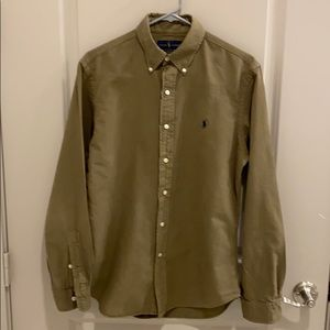 Ralph Lauren Button Down (Size: M, Color: Olive)